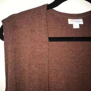 Chocolate Brown Joy, Sweater BNWT LuLaRoe XL